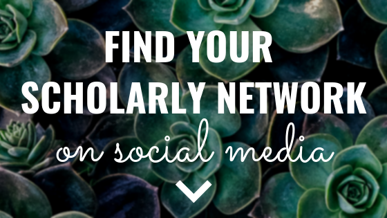 Find Your Scholarly Network on Social Media – The Academic Designer